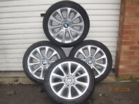 Alloy Wheels BMW Alloy wheels BMW 17 inch 225/45/17