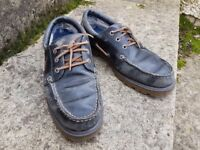Sperry Mens Boat Shoes - Navy - Goretex - Size 8