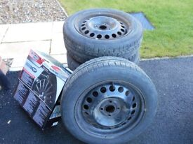 Winter wheels and tyres for many Kia and Hyundai cars