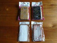 4 x SAMSUNG GALAXY J3 (2016) PHONE CASES and COVERS, BRAND NEW, STILL IN SEALED PACKETS, XMAS GIFT