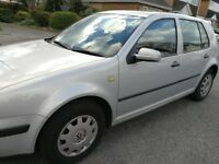 VW Golf SE 1.6 Sensible Offers, Genuine Low mileage, ele windows and sunroof, only 2 keepers