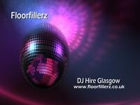 Floorfillerz - DJ Hire in Glasgow for your Wedding, Birthday, Engagement or Corporate Event.