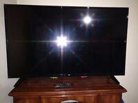 BUSH 48 Inch LED TV - Only 6 Months old