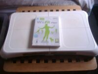 Nintendo Wiifit board with disks