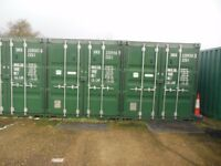20 ft shipping container available to rent