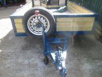 Mulipurpose trailer twin axel