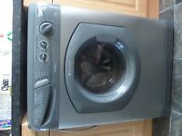 For spares or Repair Hotpoint Aquarius 1200 spin WD420 silver washer / dryer