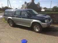 Mitsubishi l200 1 years mot looking for to swap