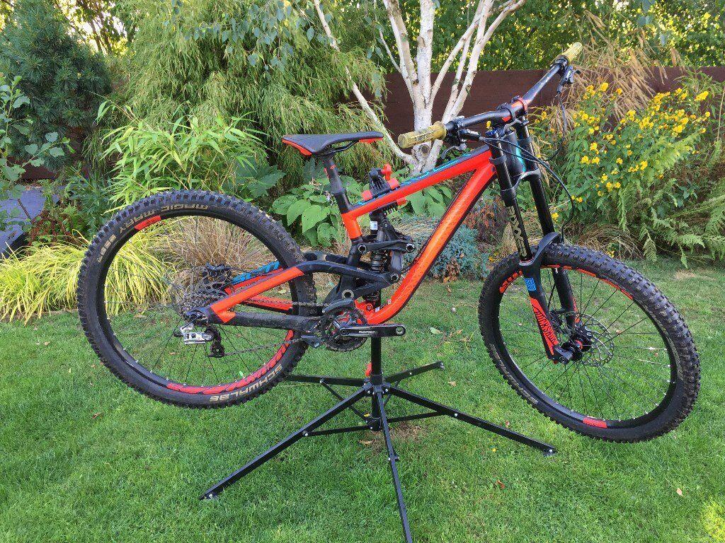 186496d9131 Scott Gambler 730 Downhill Mtb Bike Price Drop Bargain 200mm Of