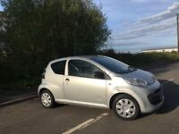 CITREON C1 1.0 VIBE PETROL 07 REG ROAD TAX £20 YEAR MOT OCTOBER 2ND LADY OWNER LOW INSURANCE 60+MPG