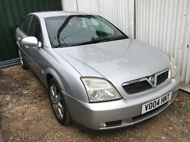 Vauxhall vectra silver petrol breaking for parts / spares