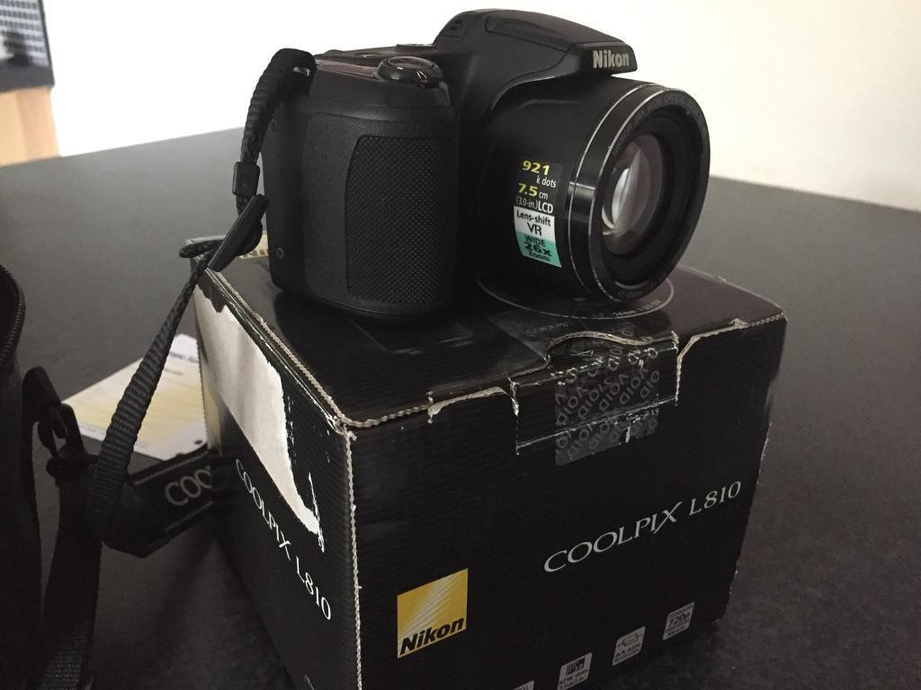 Nikon L810 Ads Buy Sell Used Find Right Price Here Camerain North Shields Tyne And Wear Coolpix Digital Camera In Mint
