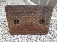 Cast Iron Manhole Cover (Lid only) 655 x 510 x 35