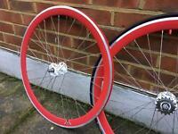 Single Speed Racing Bike Wheels
