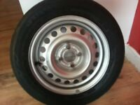 corsa new wheel and tyre