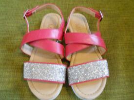childs M&S Sandals, size UK 2 / 31.5 EUR, Excellent condition,