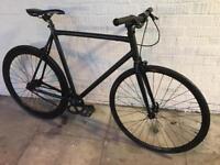 Black single speed track bike vsc