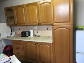 WOODEN KITCHEN UNITS FOR SALE