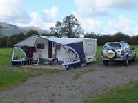 Caravan awning canopy