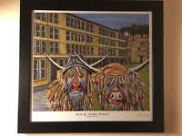 Framed limited edition Jack & Victor McCoo print
