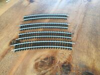 Hornby train set – curved track