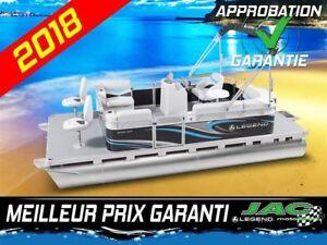 2018 Legend Boats Ponton Splash EXT Mercury 25 ELPT Bateau pêche