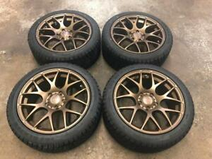 "17"" VMR Bronze wheels & SAILUN Winter tires (JAPANESE CARS) Calgary Alberta Preview"