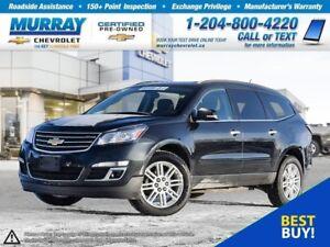 2014 Chevrolet Traverse 1LT *Heated Seats, Remote Start, OnStar*
