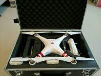 Dji phantom 3 drone (new) 3 batteries and flight case