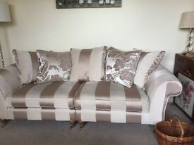 Now reduced Beautiful 3 and 4 seater sofas for sale