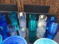 Plastic crockery & glasses set