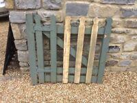 Sturdy Wooden Garden Gate