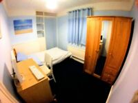 AVAILABLE JULY & AUGUST Cheap room in quiet house approx £98pw INC