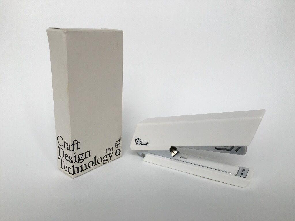 Craft Design Technology Stapler White In Victoria Park London