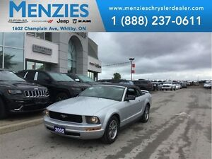 2005 Ford Mustang V6, Convertible, Leather, Clean Carproof