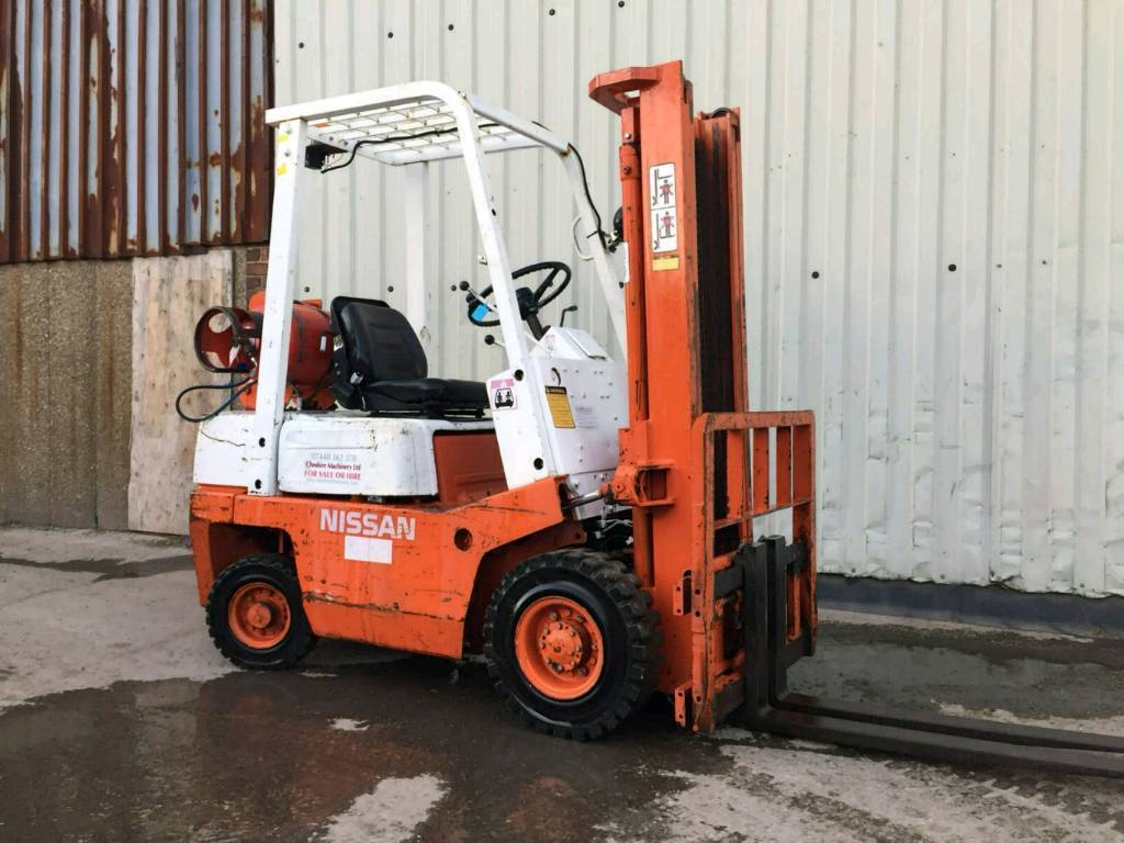 Nissan Gas 15 Ton Forklift Hire Or Sale