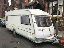 ABI Award Nightstar 1996 6 Berth Caravan with Awning Good Condition Inside & Out