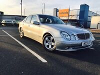 Mercedes Benz e220 Avargante parking sensore electric Windows 2005 REG 189k but drives perfect ideal