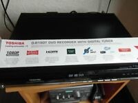 thosiba d-r18dt dvd player recorder for sale