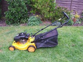 JCB petrol lawn mower