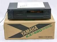 Yamaha KX580 cassette player