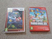 Wii Mario games x2