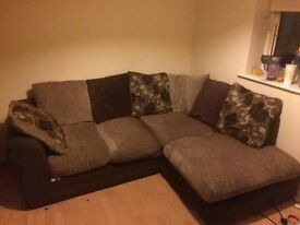 Corner Sofa, quick sale. Good condition £120