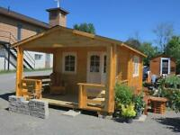 Do It Yourself Log Cabin / Bunkie / Garden Shed