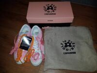 Converse x Tyler the Creator Golf Le Fleur One Star Pink Size UK 6