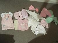 Newborn baby girls bundle