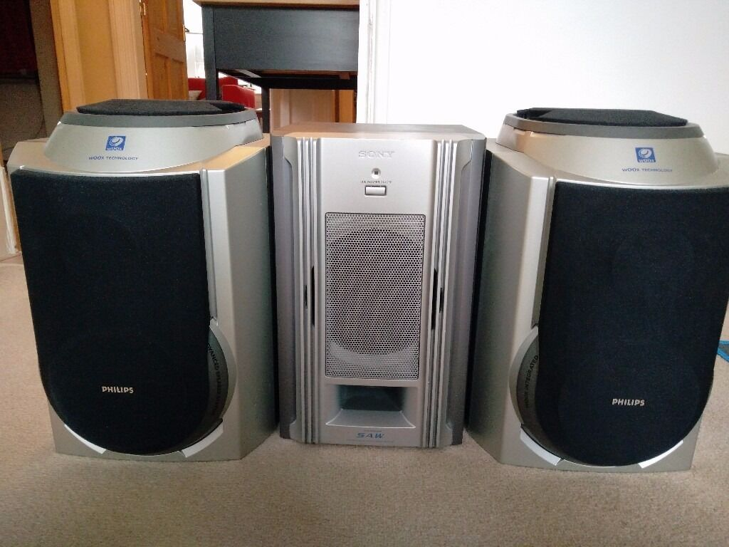 Philips Woox Speakers Amp Sony Subwoofer In East End