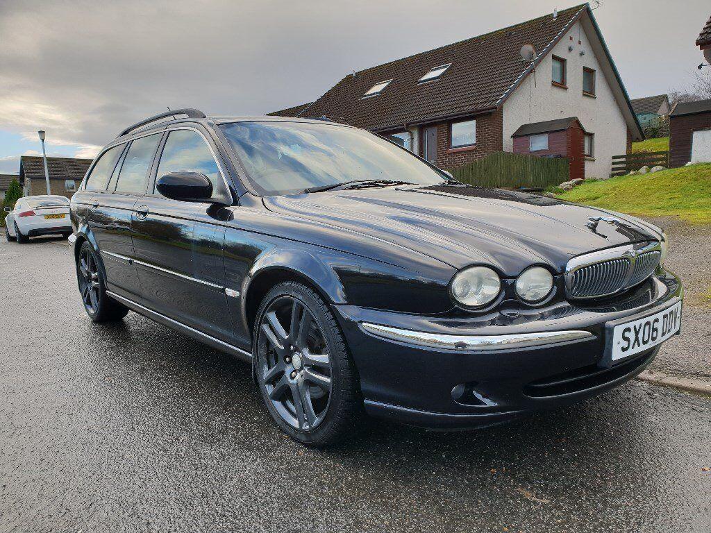 2006 jaguar x type estate 2.2d diesel se leather sat nav