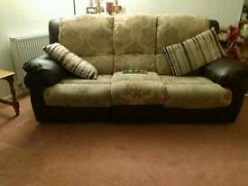 Free Powered Recliner Sofa