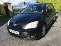 \\\\\ 56 REG TOYOTA CORROLA COLOUR VVTI \\\\ EXCELLENT CONDITION \\\\ ONLY £1299